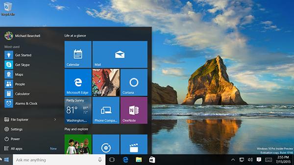 Windows 10 Screenshot 1