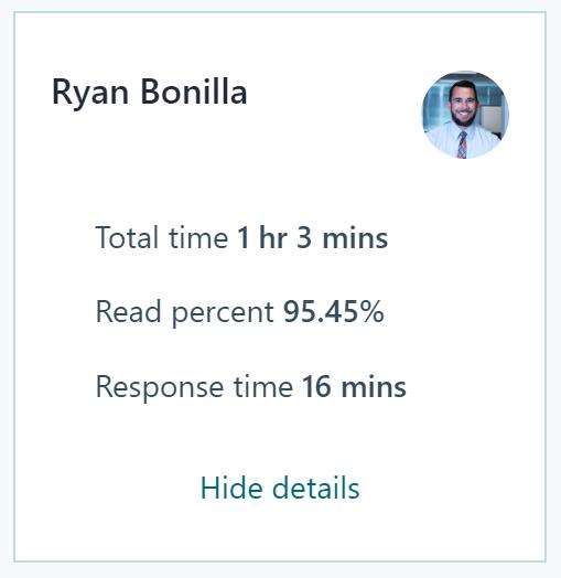 MyAnalytics Network Stats
